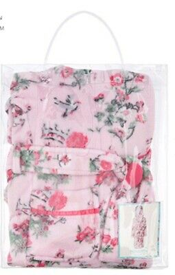 Monsoon Avery Girls Pink Chunky Robe Dressing Gown Aged 12-13 Years Bnwt 152-158 4