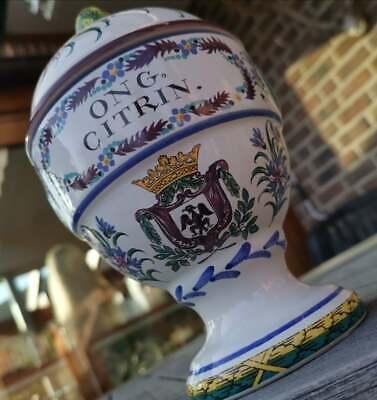 Apotheker - altes, schickes Apothekergefäß aus Keramik - Blickfang 3