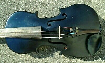 antique  full size Russian form violin ready to play 2