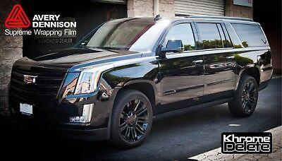CHROME DELETE KIT fitting the 2015-2019 Cadillac Escalade Window Trim