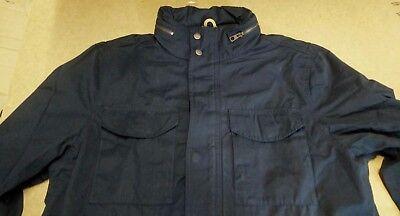 EX TIMBERLAND Cut Label Mens M65  Military style Jacket Coat Indigo Khaki,Navy