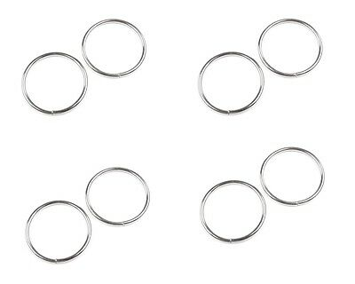 O Rings Metal Collars Buckles Straps for Webbing Strap Tape 12 20 25 30 35 mm 3