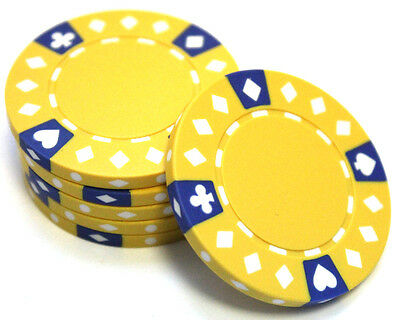 200 Piece Poker Chips Set Blackjack Composite Clay 11.5g Assorted-High Quality