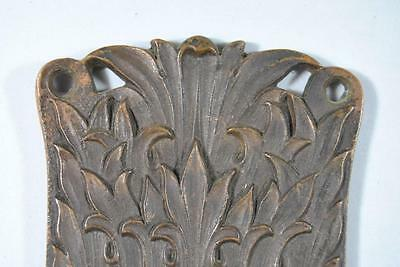 Antique Art Nouveau Corbin Brass Lockset Knobs / Handles Plate #09357 5