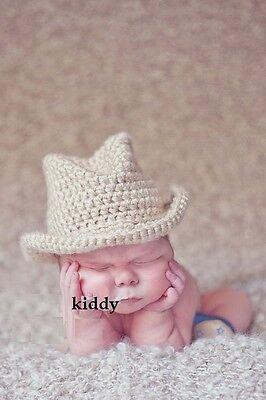 fb412142daeb4 ... HANDMADE Newborn Baby Boy Crochet Knit Fedora Hat   Ginger Yellow   Photo Prop 3