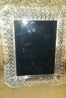 Waterford Crystal Lismore 5 X 7 Picture Frame 128019 With Waterford