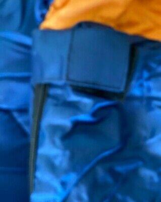 Saco De Dormir Repsol Cremallera Derecha Azul Y Naranja Nuevo 4