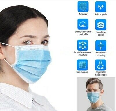 [SHIP FROM USA] Protective Face Mask (10PC) 2