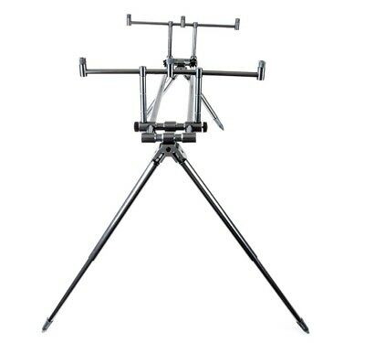 DAM MAD TOUCH DOWN 4 ROD ROD POD+CARRY CASE CARP FISHING GOAL POST STYLE KIT SET