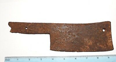 Ancient ax for cutting meat 10-12 centuries. 6