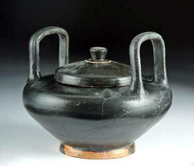 Large Greek Attic Blackware Lebes Gamikos Lot 20