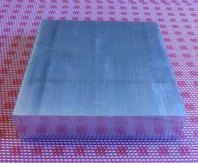 """1-1/4"""" X 4"""" X 4"""" aluminum 6061 new solid plate flat bar stock mill block 1.5 MT 2"""