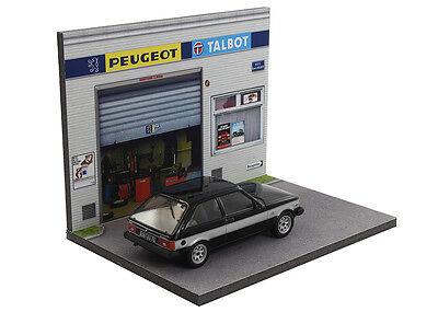 Diorama présentoir Peugeot Talbot - 1/43ème - #43-2-A-A-089 6