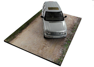 Diorama base route en terre / plinth dirt road - 1/24ème - #24-1-E-001 5