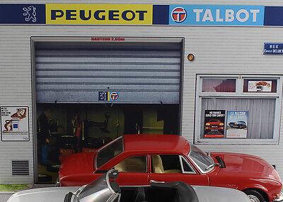 Diorama présentoir Peugeot Talbot - 1/43ème - #43-2-A-A-089 12