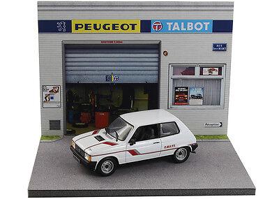 Diorama présentoir Peugeot Talbot - 1/43ème - #43-2-A-A-089 3