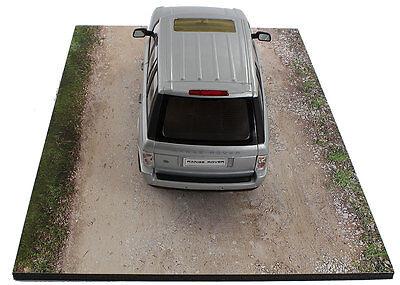 Diorama base route en terre / plinth dirt road - 1/24ème - #24-1-E-001 7