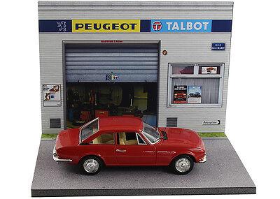 Diorama présentoir Peugeot Talbot - 1/43ème - #43-2-A-A-089 9