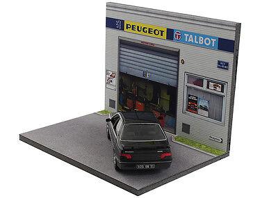 Diorama présentoir Peugeot Talbot - 1/43ème - #43-2-A-A-089 8