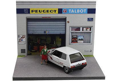Diorama présentoir Peugeot Talbot - 1/43ème - #43-2-A-A-089 4