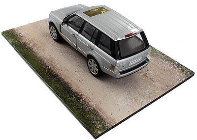 Diorama base route en terre / plinth dirt road - 1/24ème - #24-1-E-001 8
