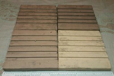 4 Old Architectural Sample U S Roofing Tile s CO Clay Parkersburg West Virginia 2