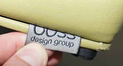 Six Cool Rrp £5280 Boss Design Hoot Leather Stools Modular Contemporary Design 6 5