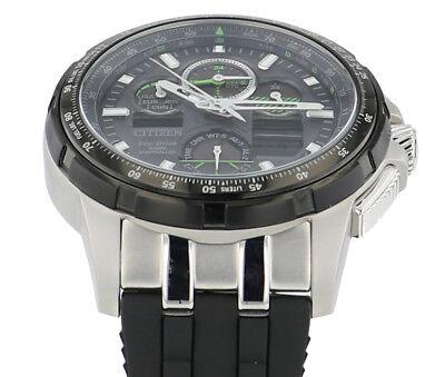 65ade33f5 ... Citizen Eco-Drive Men's JY8051-08E Skyhawk A-T Black Rubber Strap 47mm  Watch 4