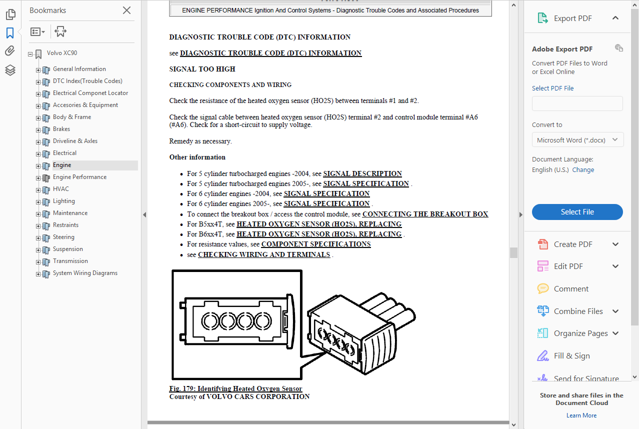 *WORKSHOP MANUAL SERVICE /& REPAIR GUIDE for VOLVO XC90 2007-2011 WIRING