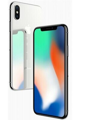 Apple iPhone X 64GB 256GB GSM Factory Unlocked Smartphone Cell Phone Grey Silver 3