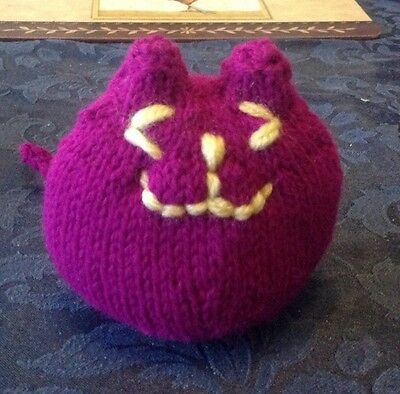 Urgent Appeal For Sick Kitten - Hand Knitted Catnip Miaow Toy 5