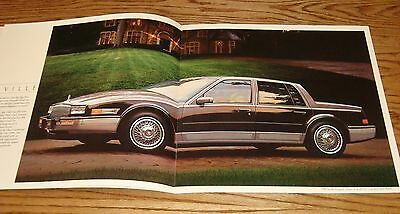 1986 Cadillac Seville Original Sales Brochure Catalog