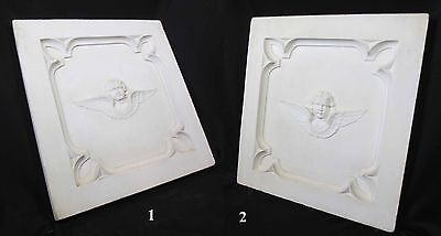 Antique Architectural Religious Italian Carved Marble Altar Angel/Cherub PANEL#1 12