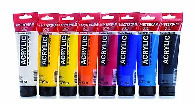 Amsterdam Standard Series Art Acrylic Paint 120ml - 80 Colours (Listing 2/2) 2