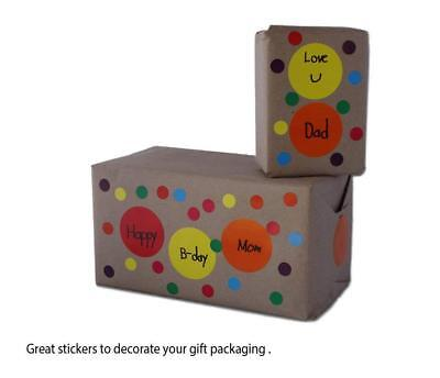 Dot Stickers Rolls Round Labels 1/2 inch Circles 13mm For Organizing 1080 Pack 10
