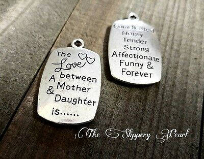2 Word Charms Quote Pendants Antiqued Silver Inspirational I CHOOSE STRENGTH