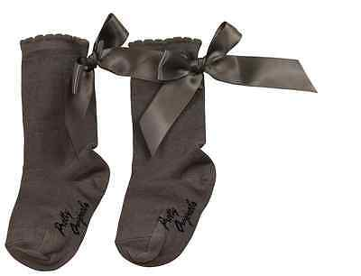 BNWT Girls Classic Knee Length Socks with Bows by Pretty Originals 5