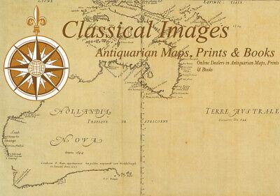 1638 Gerard Mercator & Henricus Hondius Antique Map of Alsace Region, France 4