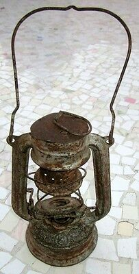 "Antique Made In Germany Feuerhand ""superbaby"" Rail Road Lantern, Excellent 3"