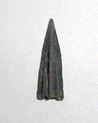 Ancient Bronze 500-300 BC. Arrowhead