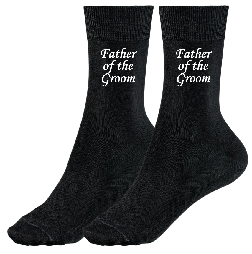 X6N861 Personalised Navy Blue Bow Tie Design Wedding Socks Mens and Chids