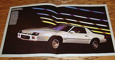 Original 1984 Chevrolet Camaro Sales Brochure 84 Chevy Z28