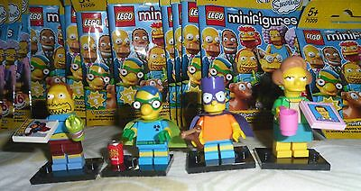 Complete Series 16pcs Mini Figures Completa Lego Minifigures Serie Simpsons