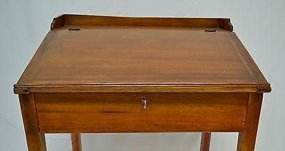2 of 9 Antique Pine and Poplar Schoolmaster's Desk - ANTIQUE PINE And Poplar Schoolmaster's Desk - $795.00 PicClick