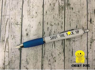 Funny Pens - Rude Cheeky Novelty Office Stationary Secret Santa Sweary PEN09 2