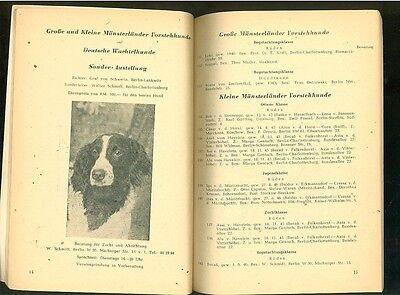 Berliner Jagdhundeausstellung 1947 3 • EUR 9,99