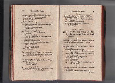 1792 Jagd- und Forst Recht nach Chur Sächsischen Gesetzen CODEX AUGUSTAEUS 5