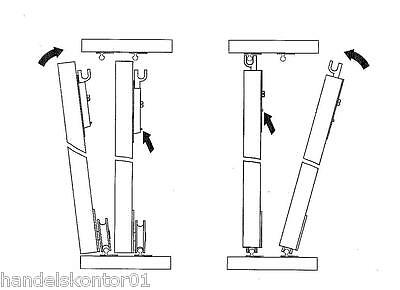 schiebet r selbstbausatz f r schrankt ren 3 x 25 kg inkl schienen bis 1850 mm eur 45 19. Black Bedroom Furniture Sets. Home Design Ideas