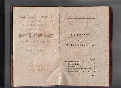 1792 Jagd- und Forst Recht nach Chur Sächsischen Gesetzen CODEX AUGUSTAEUS 3