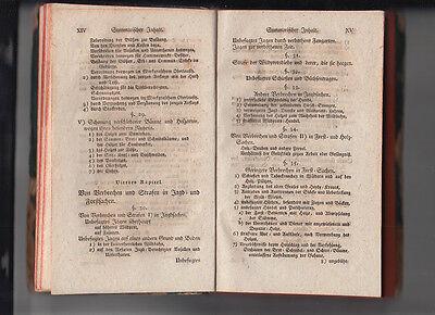 1792 Jagd- und Forst Recht nach Chur Sächsischen Gesetzen CODEX AUGUSTAEUS 7